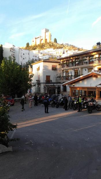 Viaggio in moto Tour Andalusia Velz Blanco