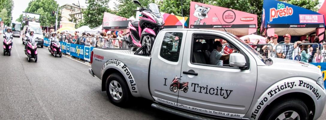 tricity rosa strada pick up