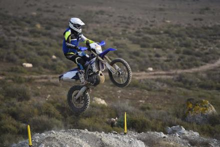 Press Test WR450F Almeria
